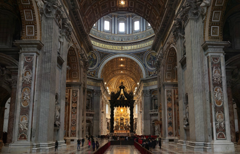 Peterskyrkan: San Pietro Tour