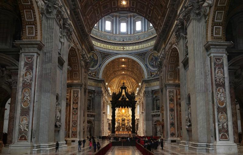 Peterskyrkan: San Pietro Tour