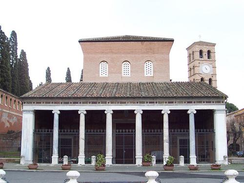 Sevärdheter- kyrkor i Rom: San Lorenzo fuori le mura