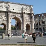 Sevärdheter Rom: Arco di Costantino- Konstantinbågen