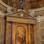 Kyrkor i Rom: Chiesa del Gesù- huvudaltaret