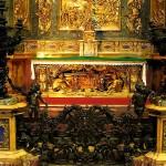 Kyrkor i Rom: Chiesa del Gesù- Ignatius av Loyolas grav