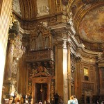 Kyrkor i Rom: Chiesa del Gesù- orgel