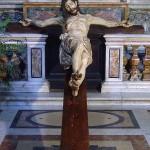Kyrkor i Rom: Chiesa del Gesù- krucifix