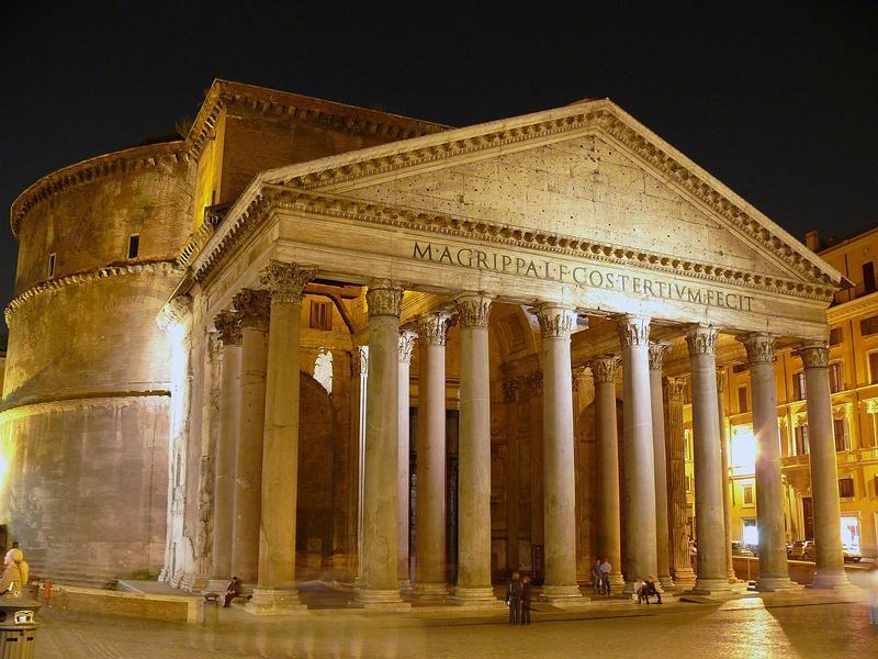 Pantheon tapınağı roma