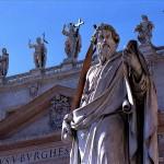 Sevärdheter/kyrkor i Rom: Peterskyrkan- statyer