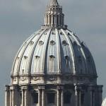 Sevärdheter/kyrkor i Rom: Peterskyrkan- kupolen