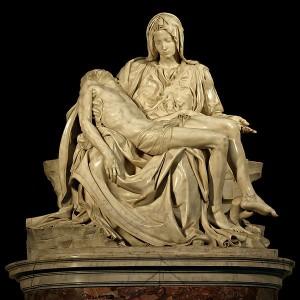 Sevärdheter/kyrkor i Rom: Peterskyrkan- La Pietà av Michelangelo