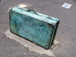 Bild på resväska